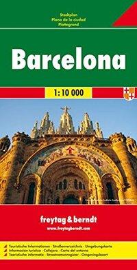 Barcelona 1 : 10 000 Stadtplan-
