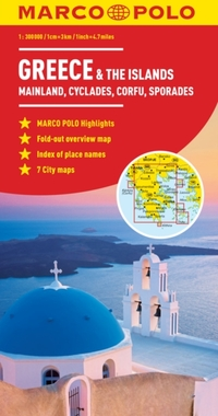 Marco Polo Map - Greece & the Islands-