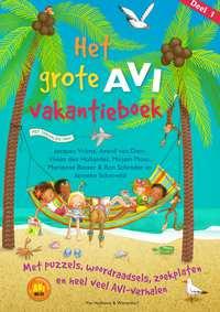 Het grote AVI vakantieboek-Arend van Dam