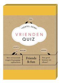Vrienden Quiz-Elma van Vliet