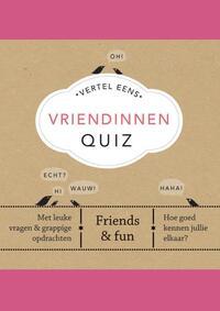 Vertel Eens Vriendinnen Quiz-Elma van Vliet