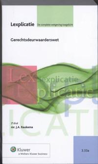 Gerechtsdeurwaarderswet-J.A. Raukema-eBook