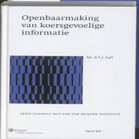 Openbaarmaking van koersgevoelige informatie-Gerardus Theodorus Johannes Hoff