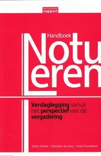 Handboek Notuleren-Ineke Ouwehand, Marjolein de Jong, Stefan Gielliet