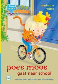 Poes Moos gaat naar school-Marianne Witte