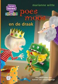 Leren lezen met Kluitman Poes Moos en de draak-Marianne Witte