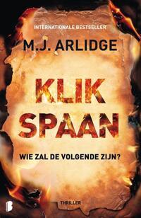 Klikspaan-M.J. Arlidge