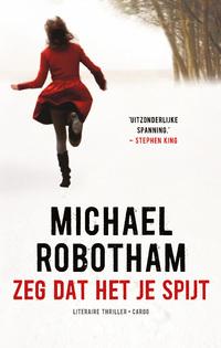 Zeg dat het je spijt-Michael Robotham-eBook