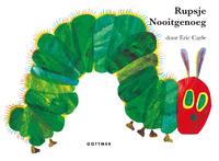 Rupsje Nooitgenoeg (gebonden kartonboek)-Eric Carle