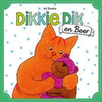 Dikkie Dik en Beer (met 2 handpoppen)-Jet Boeke