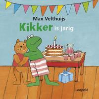 Kikker is jarig-Max Velthuijs