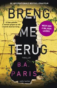Breng me terug-B.A. Paris-eBook