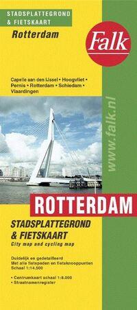 Falk stadsplattegrond & fietskaart Rotterdam-