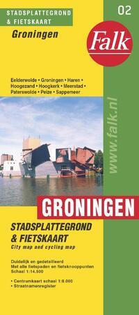 Groningen plattegrond-