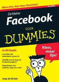 De kleine Facebook voor Dummies, 2e editie (eBook)-Jaap de Bruijn-eBook