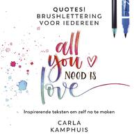 Quotes! Brushlettering voor iedereen-Carla Kamphuis