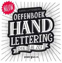 Handlettering doe je zo! Oefenboek-Karin Luttenberg