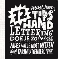 72 tips - Handlettering doe je zo!-Karin Luttenberg-eBook