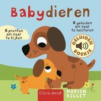 Babydieren (geluidenboekje)-Marion Billet