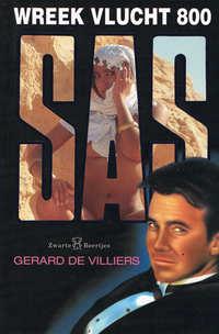 SAS 125 : Wreek vlucht 800-Gérard de Villiers-eBook