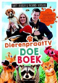 Het DierenpraatTV Doeboek-Britt Dekker, Richard Versluis