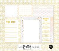 Mijn bullet journal - sticky notes-
