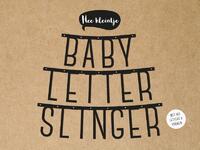 Babyletterslinger-