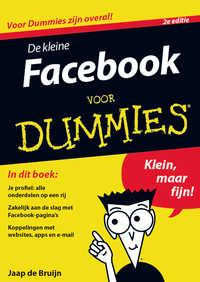 De kleine Facebook voor Dummies, 2e editie-Jaap de Bruijn