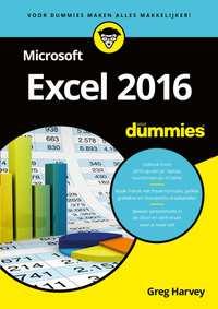 Microsoft Excel 2016 voor Dummies-Greg Harvey