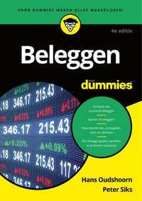 Beleggen voor Dummies-Hans Oudshoorn, Peter Siks