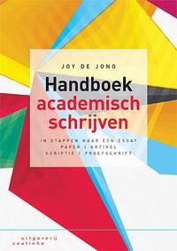 Handboek academisch schrijven-Joy de Jong