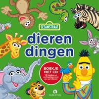 Dierendingen, Sesamstraat - Boek + CD-Sesamstraat
