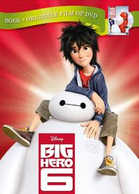 Disney - Big Hero 6 (Boek Met DVD)-DVD