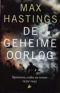 De geheime oorlog-Max Hastings