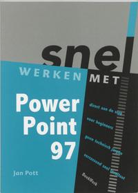 Snel werken met PowerPoint 7 NL-versie voor Windows 95-Jan Pott