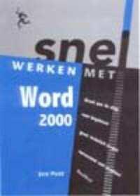 Snel werken met Word 2000-Jan Pott