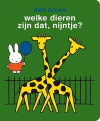 Welke dieren zijn dat, nijntje? - Stickerboek-Dick Bruna