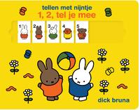 Tellen Met Nijntje - 1,2, Tel Je Mee-Dick Bruna