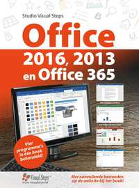 Office 2016, 2013 en Office 365-Studio Visual Steps