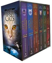 Warrior cats serie ii cadeaubox 6 paperback boeken-Erin Hunter