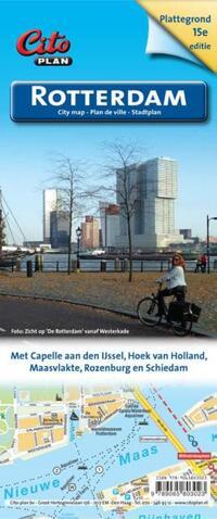 Plattegrond / Citty Map - Rotterdam-