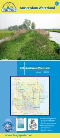 Trage paden - Wandelkaart Amsterdam Waterland-Leon Receveur