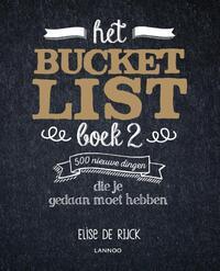 Het Bucketlist boek 2-Elise de Rijck