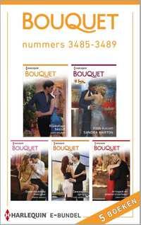 Bouquet Bundel 3485-3489 : Bouquet e-bundel nummers 3485-3489 (5-in-1)-Kate Walker, Kim Lawrence, Robyn Donald, Sandra Marton-eBook