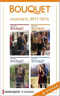 Bouquet e-bundel nummers 3511-3514 (4-in-1)-Anne Mather, Carole Marinelli, Melanie Milburne, Victoria Parker-eBook