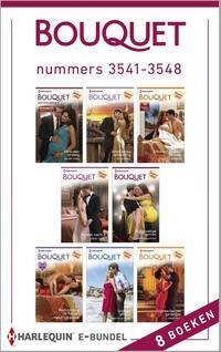 Bouquet e-bundel nummers 3541-3548 (8-in-1)-Annie West, Carole Marinelli, Chantelle Shaw, Jennie Lucas, Lynne Graham, Maisey Yates, Michelle Conder, Trish Morey-eBook