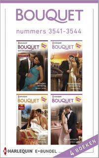 Bouquet e-bundel nummers 3541-3544 (4-in-1)-Carole Marinelli, Jennie Lucas, Maisey Yates, Trish Morey-eBook