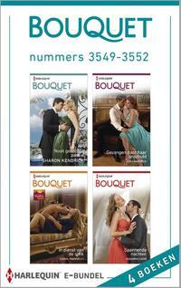 Bouquet e-bundel nummers 3549-3552 (4-in-1)-Carole Marinelli, Kim Lawrence, Sharon Kendrick, Susanna Carr-eBook