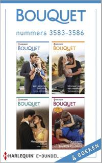 Bouquet Bundel 3583-3586 : Bouquet e-bundel nummers 3583-3586 (4-in-1)-Carole Marinelli, Dani Collins, Michelle Conder, Sharon Kendrick-eBook