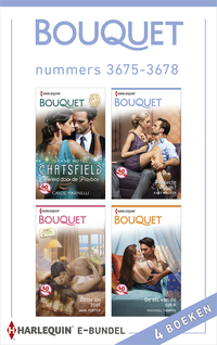 Bouquet e-bundel nummers 3675-3678 (4-in-1)-Carole Marinelli, Jane Porter, Kate Walker, Rachael Thomas-eBook